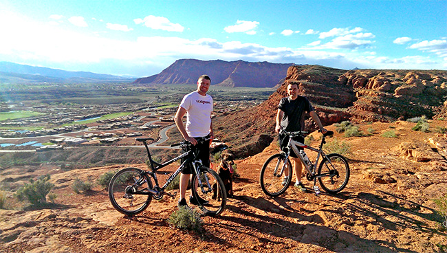 Paradise Canyon Mountain Bike Trail in St George ...