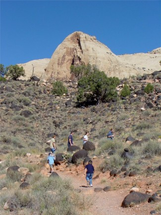 Hiking in Capitol Reef