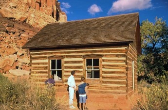Log Cabin located in Capitol Reef