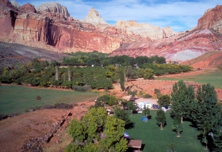 Camping at Capitol Reef