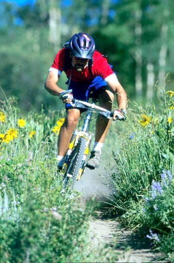 Biking in Lake Powell NRA