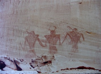 Petroglyphs in Grand Staircase