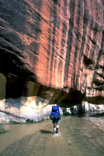 Hiking Chimney Rock in Capitol Reef