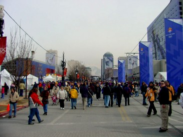 2002 Winter Olpympics in Salt Lake City