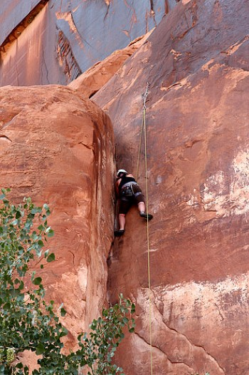 Rock Climbing in Moab