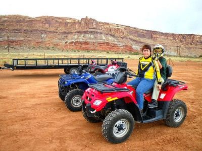 ATV riding in Moab
