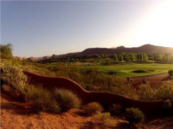 Moab Golfing