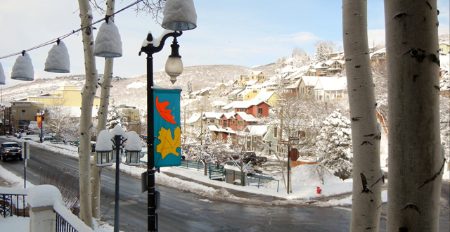 Park City Snowfall By Rich Benvin