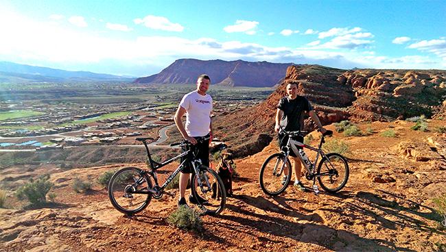 st george mountain bike trail