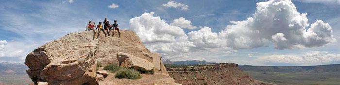 Gooseberry Mesa Bike Trail