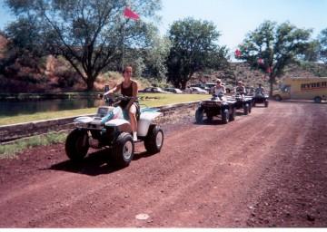 ATV Riding near Bryce Canyon