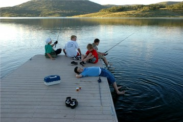 Fishing near Arches National Park