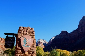 Fees in Zion National Park