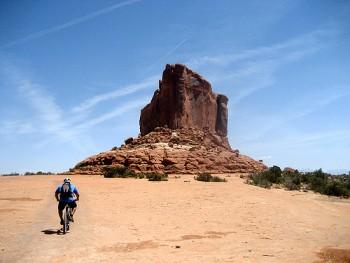Biking in Moab