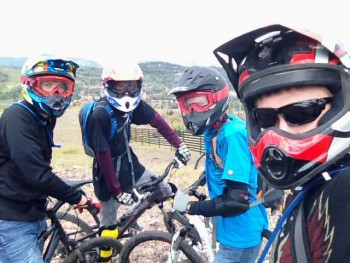 Biking in Brian Head