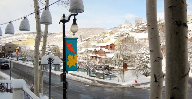 Park City Snowfall By Rich Benvin