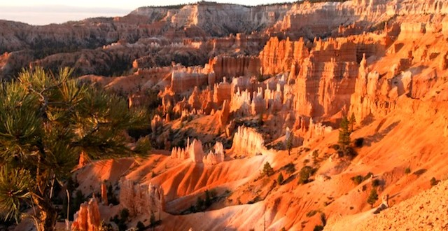 Sunrise in Bryce Canyon National Park